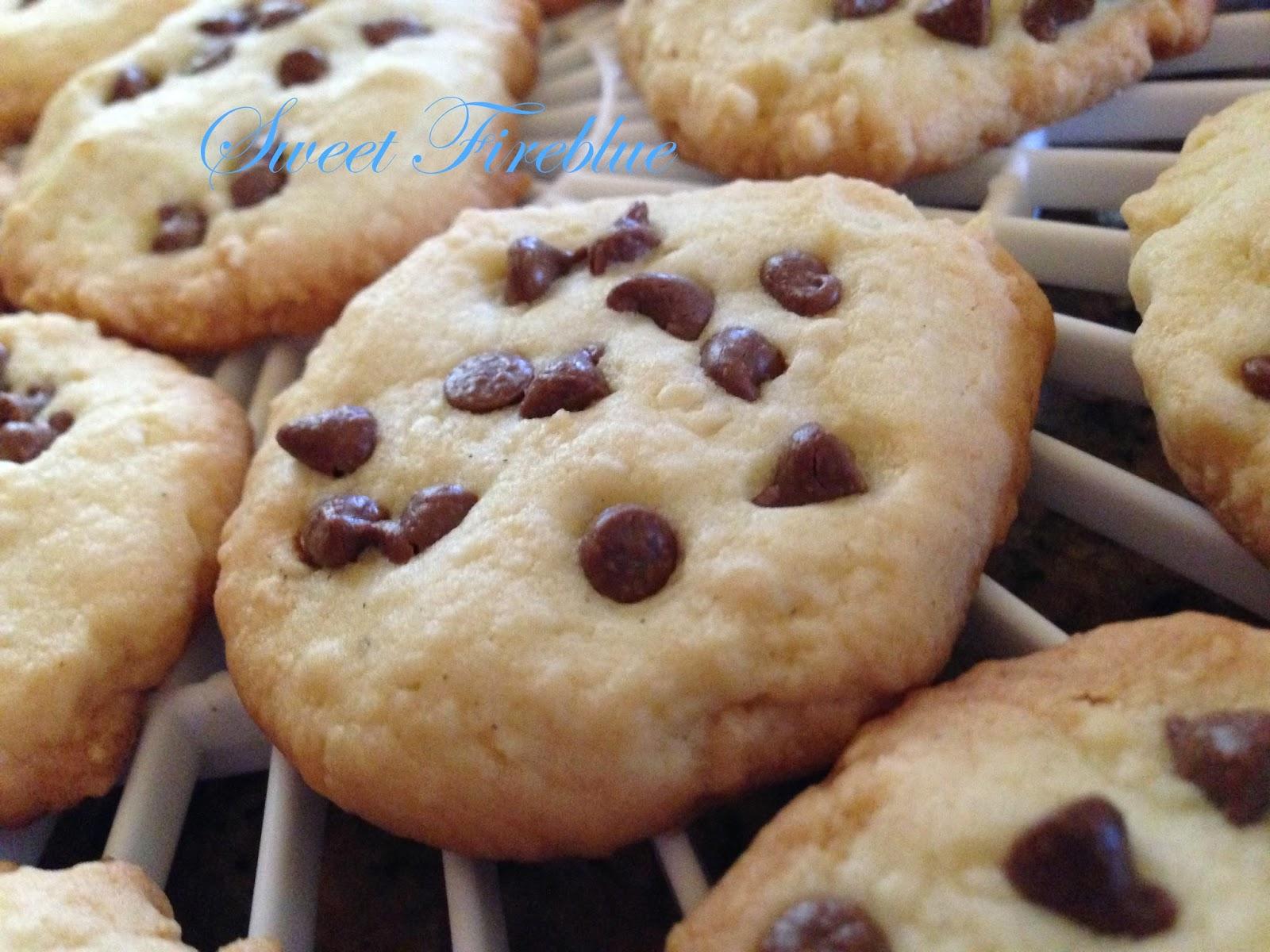 cookie al cioccolato......biscotti croccanti con gocce di cioccolato!