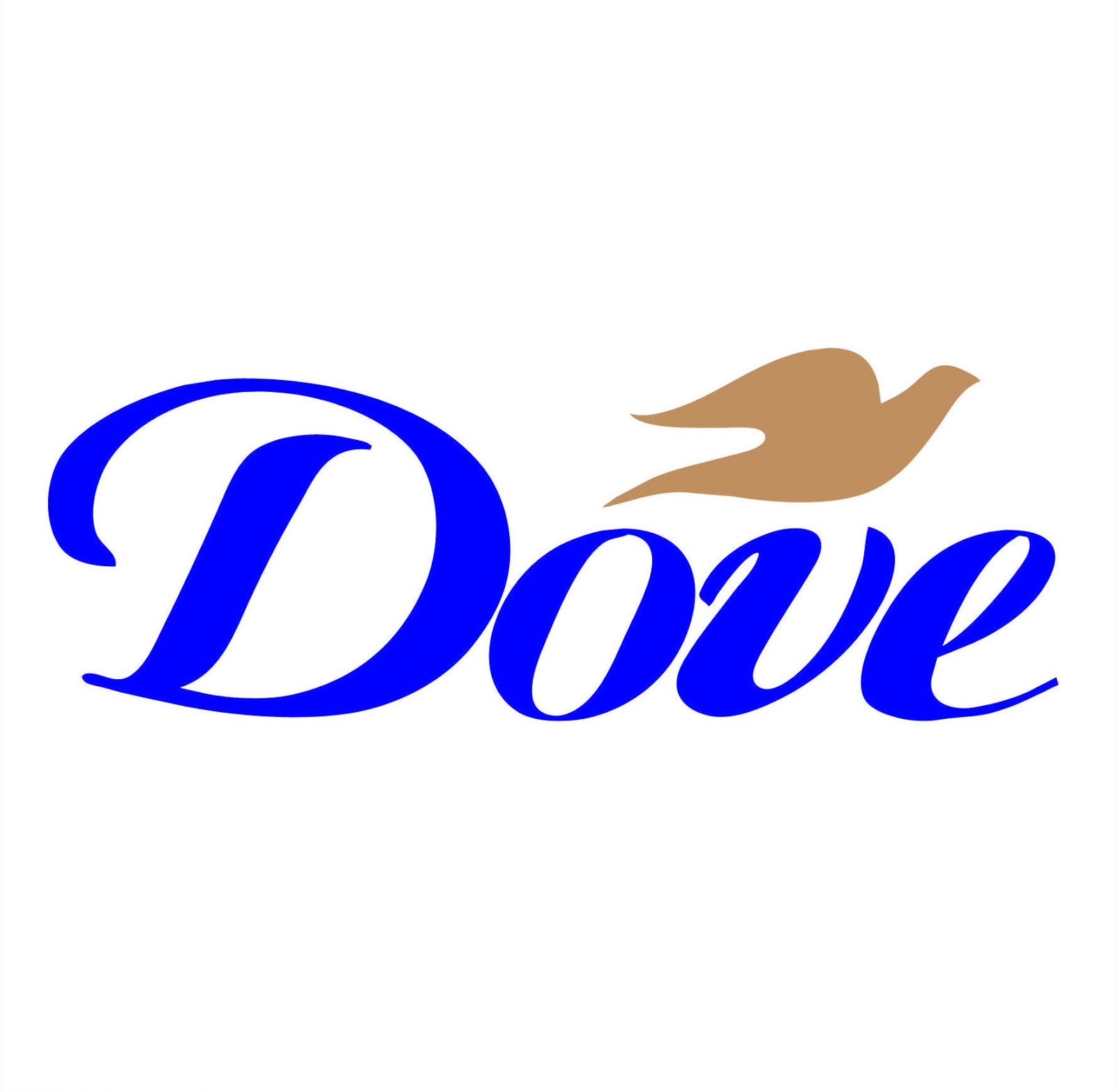 very popular logo: dove soap logo