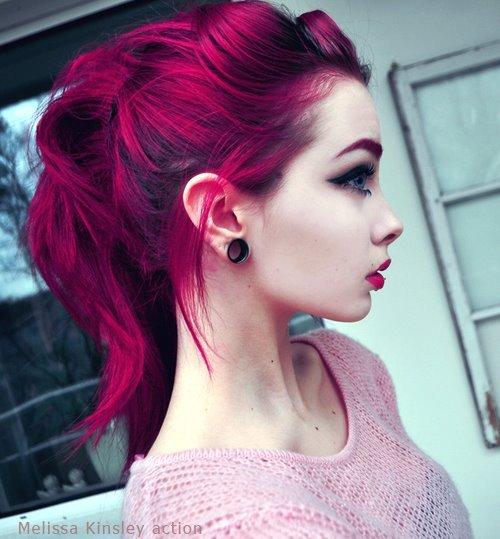 Baño Color Rojo Pelo:Si te gusta el estilo, aquí tienes unas cuantas fotos para deleitarte