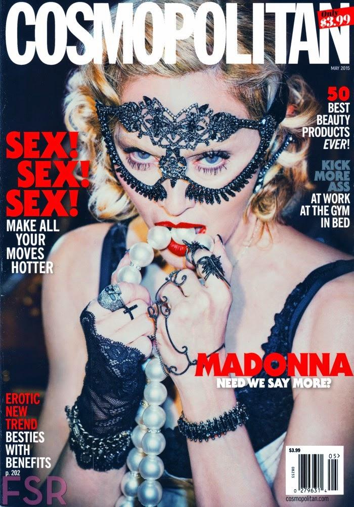 Singer, Musician, Actress @ Madonna - Cosmopolitan USA