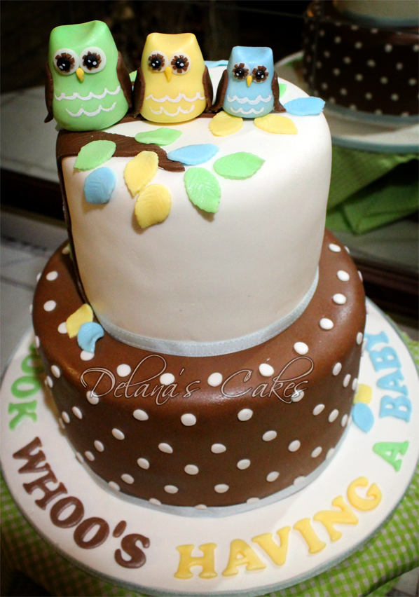 Download Baby Shower Cake Images : Image Owl Baby Shower Cake Download