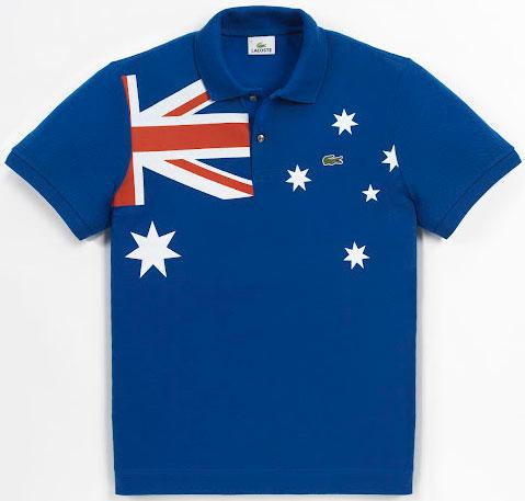 polo bandera de Australia
