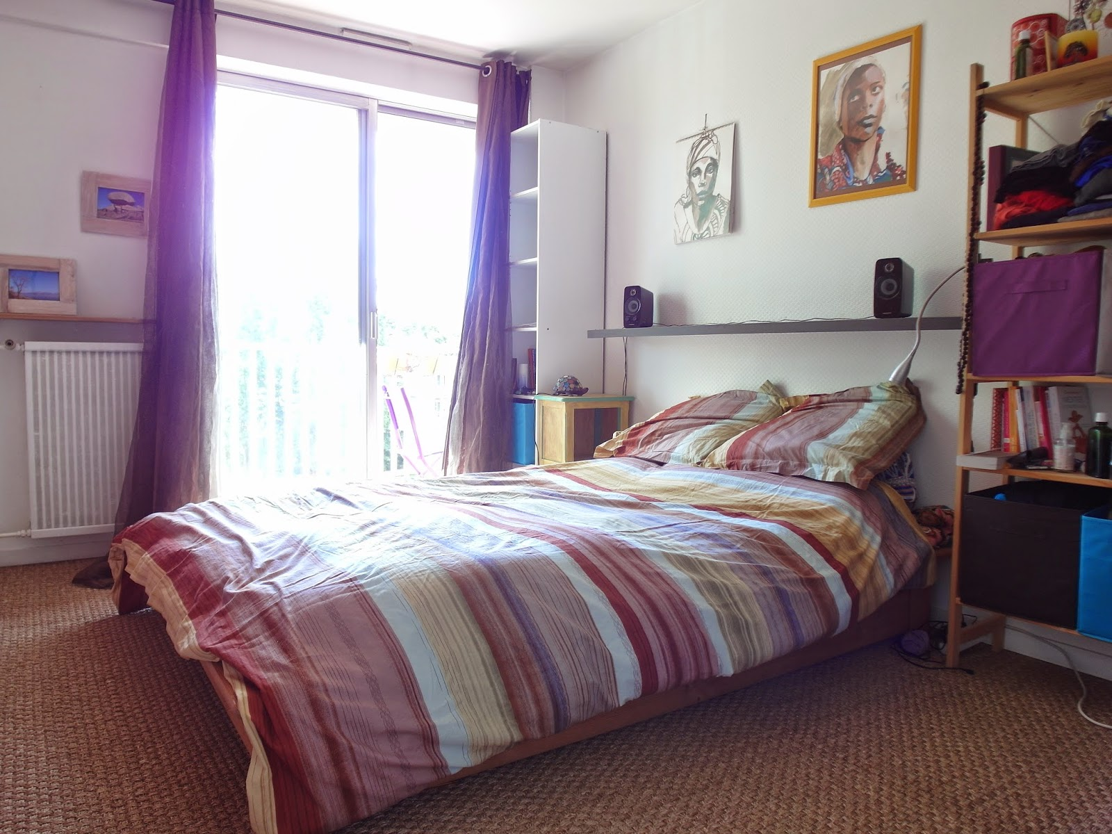 incroyable pose jonc de mer chambre id es de design. Black Bedroom Furniture Sets. Home Design Ideas