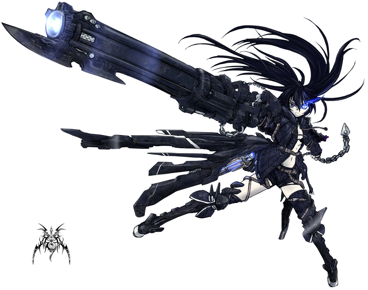 PNG-Black ★ Rock Shooter