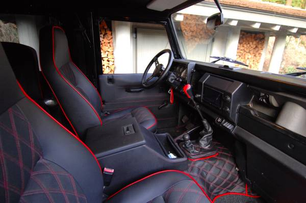 complete restore 1997 land rover defender 90 auto restorationice. Black Bedroom Furniture Sets. Home Design Ideas