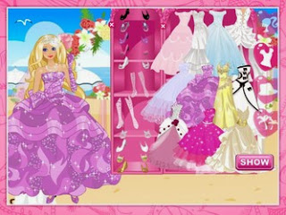 Screenshots of the Beautiful bride dressup for Android tablet, phone.