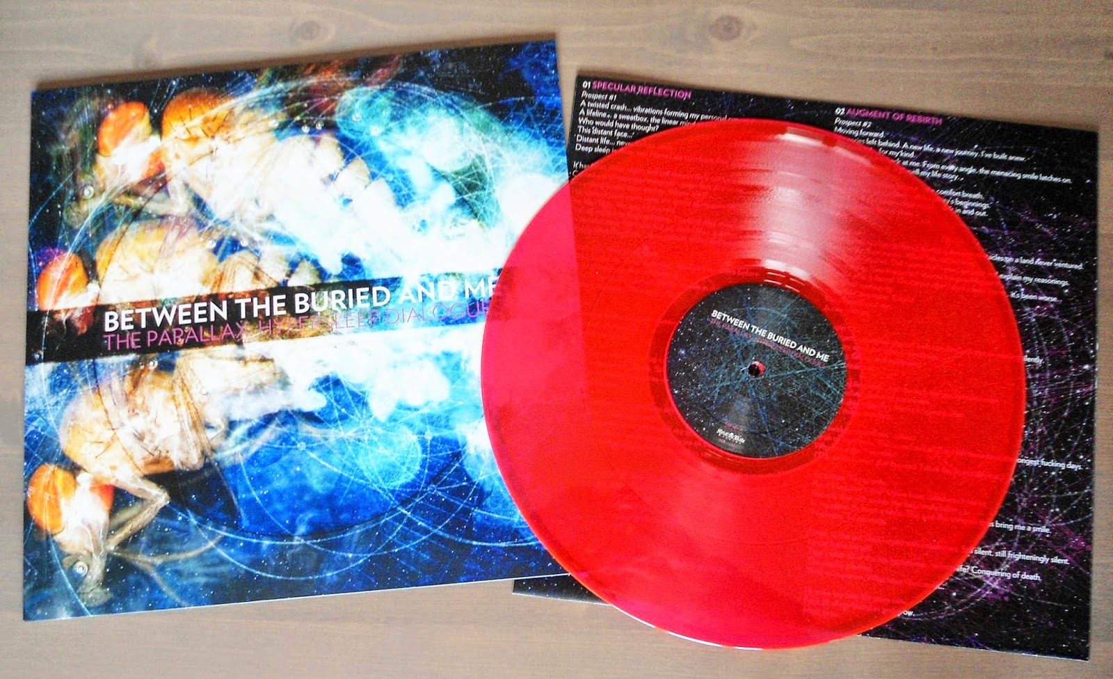hardcore/metal vinyl: between the buried and me - the parallax ...
