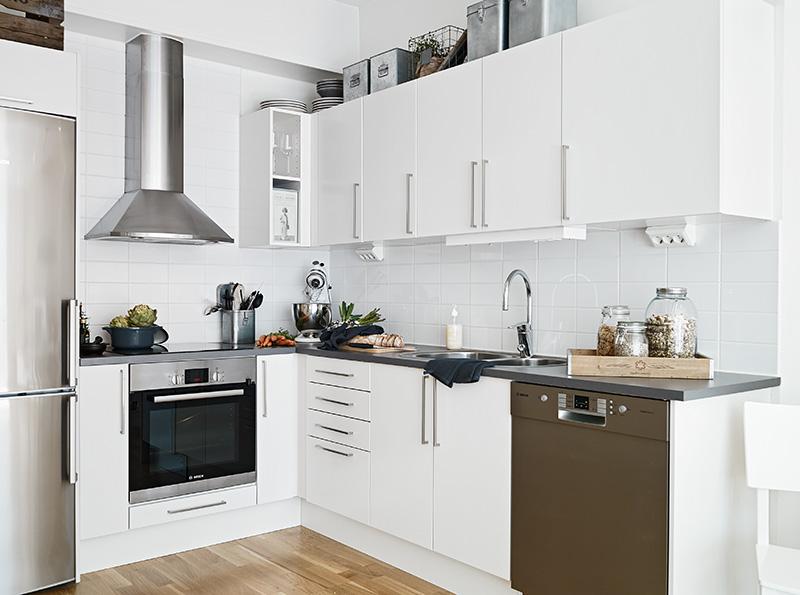 Njutbara ting underbar arbetsh rna och putsad v gg for Ver fotos de cocinas modernas