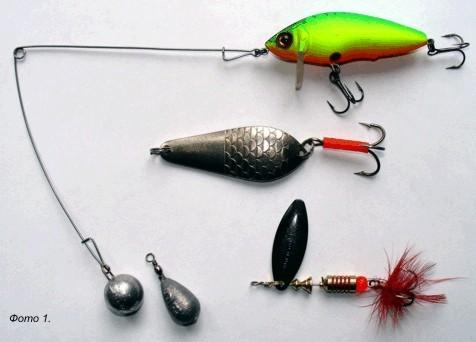 Баунсер рыболовная снасть своими руками 64