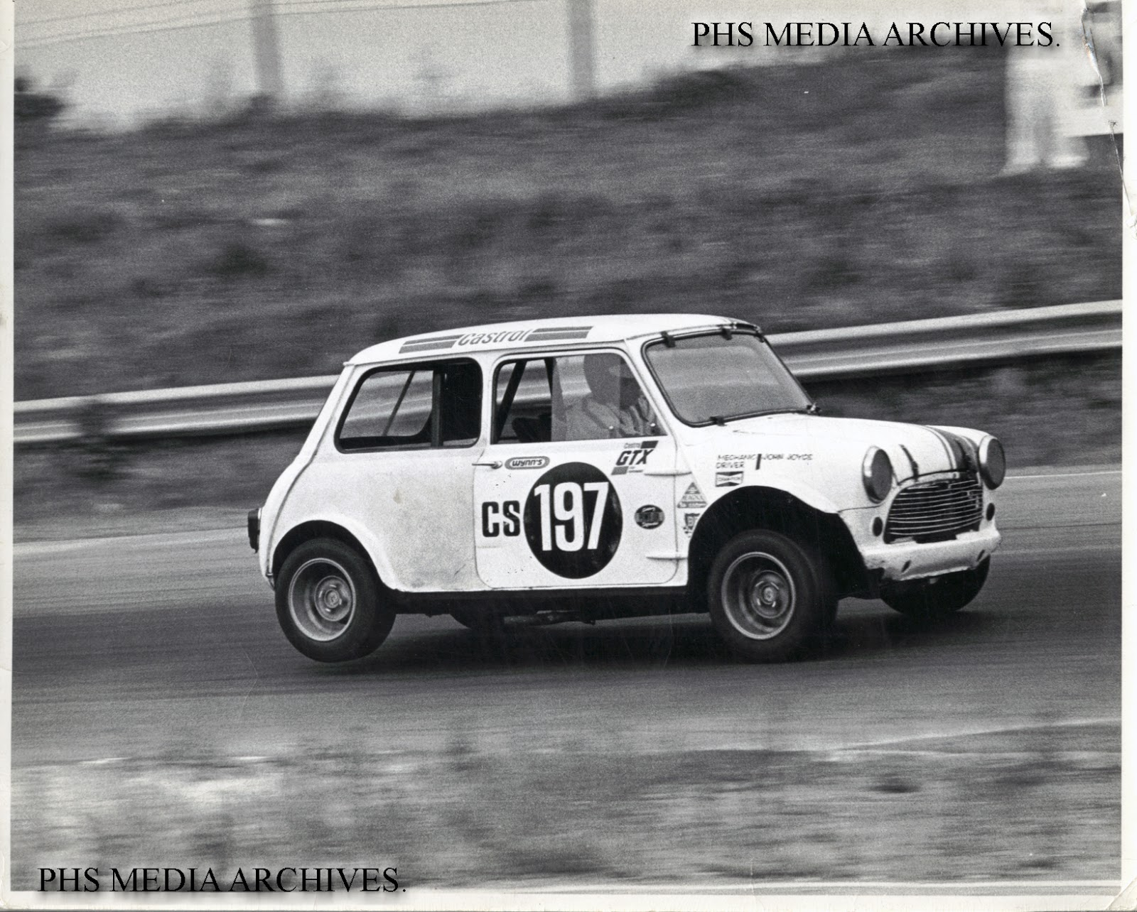 Racing Mystery: Vintage Mini Cooper CS197 UPDATE! mystery solved ...