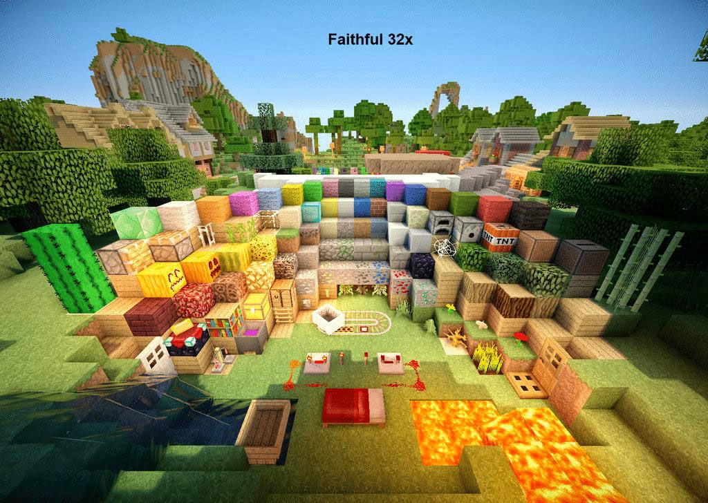 6minecraft - Minecraft Mods, Texture Packs and Tools: Resource Packs Minecraft Custom Faithful ...
