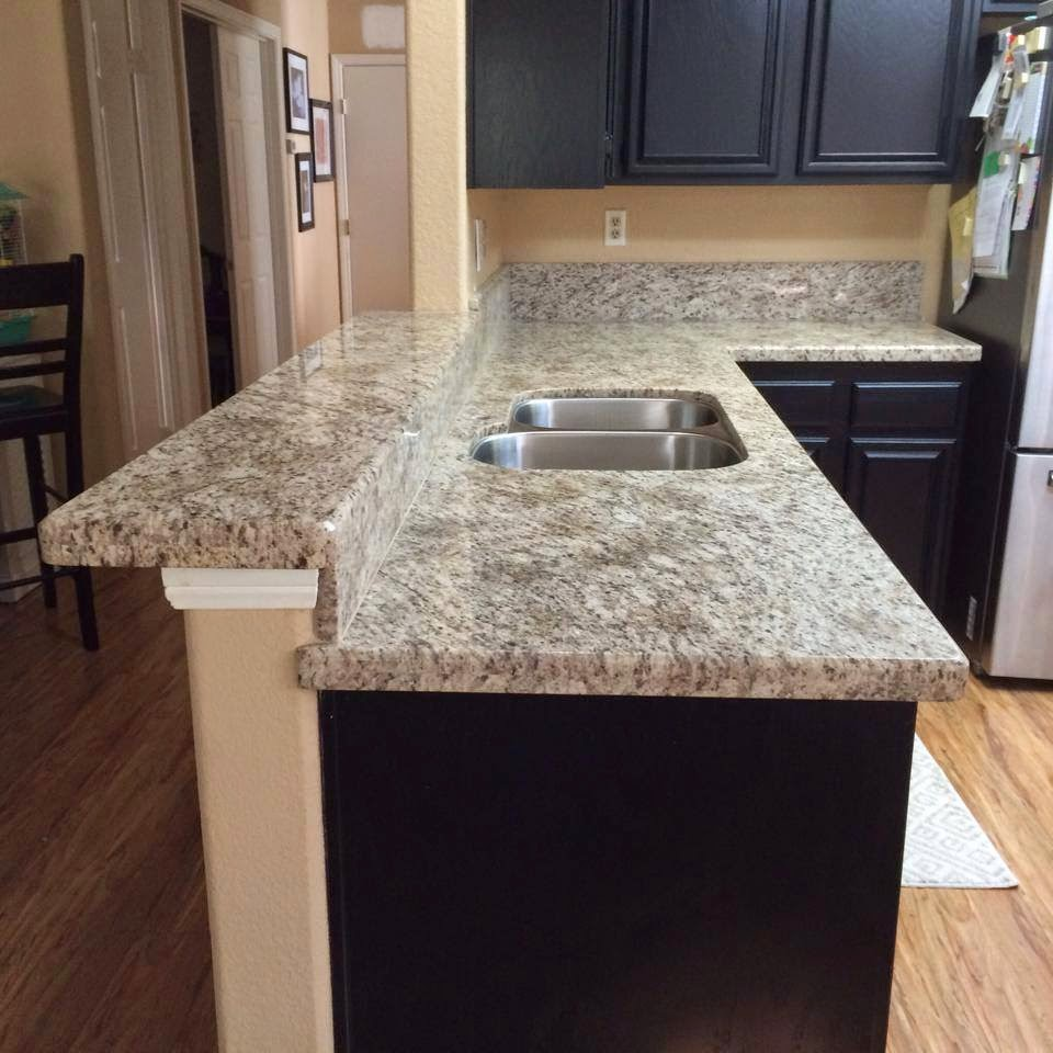 southwest granite rocks making your kitchen countertop some find the raised countertop to be a useful area in the kitchen its a great place to eat an area for kids to do their homework while mom cooks