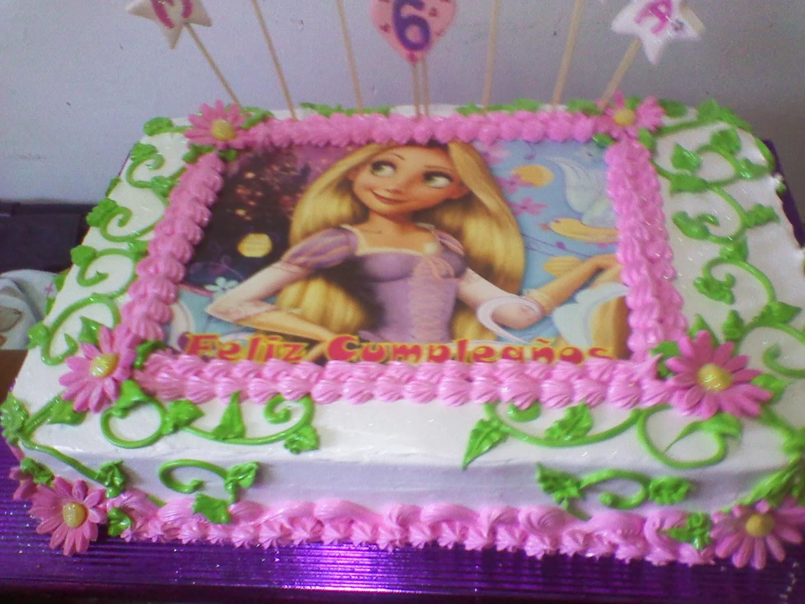 TORTAS WUENDI: Torta de Rapunzel