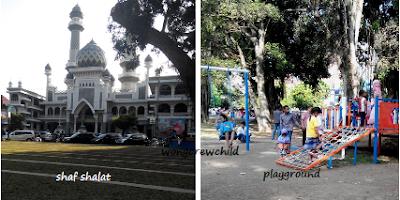 tempat bermain anak di alun-alun kota malang