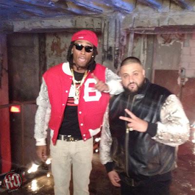 "dj khaled lil wayne future ti ace hood models bottles video shoot5 Photo Updates: Behind The Scene On Set Of DJ Khaled, Lil Wayne, Future, T.I. and Ace Hood's ""Models and Bottles"" Video Shoot"