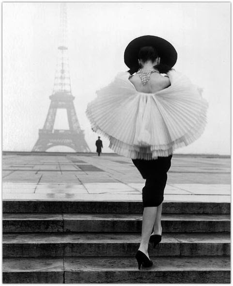 Vintage Black and White Photos of Paris