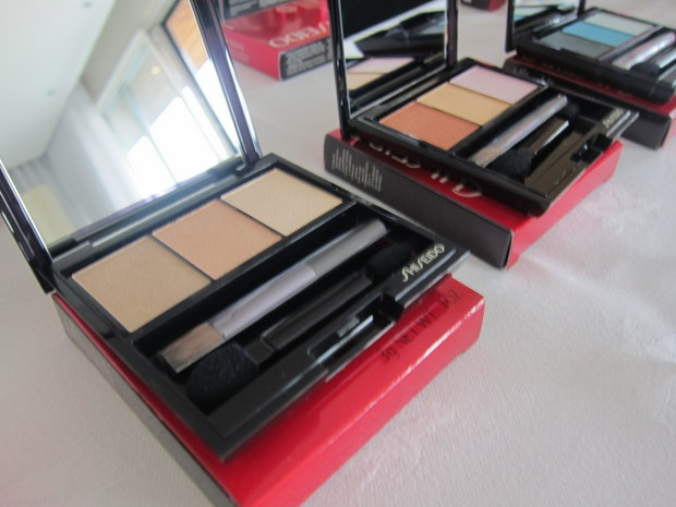 Shiseido Luminising Satin Eyeshadow Trio