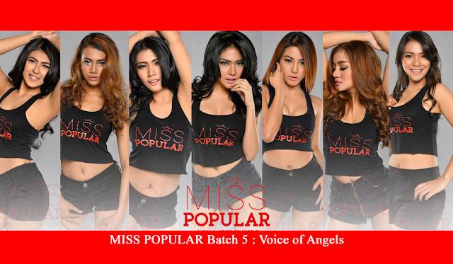 MISS POPULAR 2015 Batch 5 :'Voice of Angels', Model : Audrey, Avrilia, Dina, Helena, Novia, Ova, Vinny | www.insight-zone.com