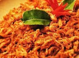 Resep Ayam, Ayam suwir balado, cara membuat ayam suwir balado enak