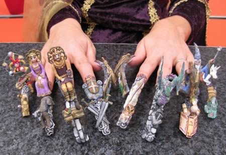 Fashionitekture incredible weird and outrageous nail art i love every design in these pictures so people absorb them and dream if possible get a manicure prinsesfo Choice Image