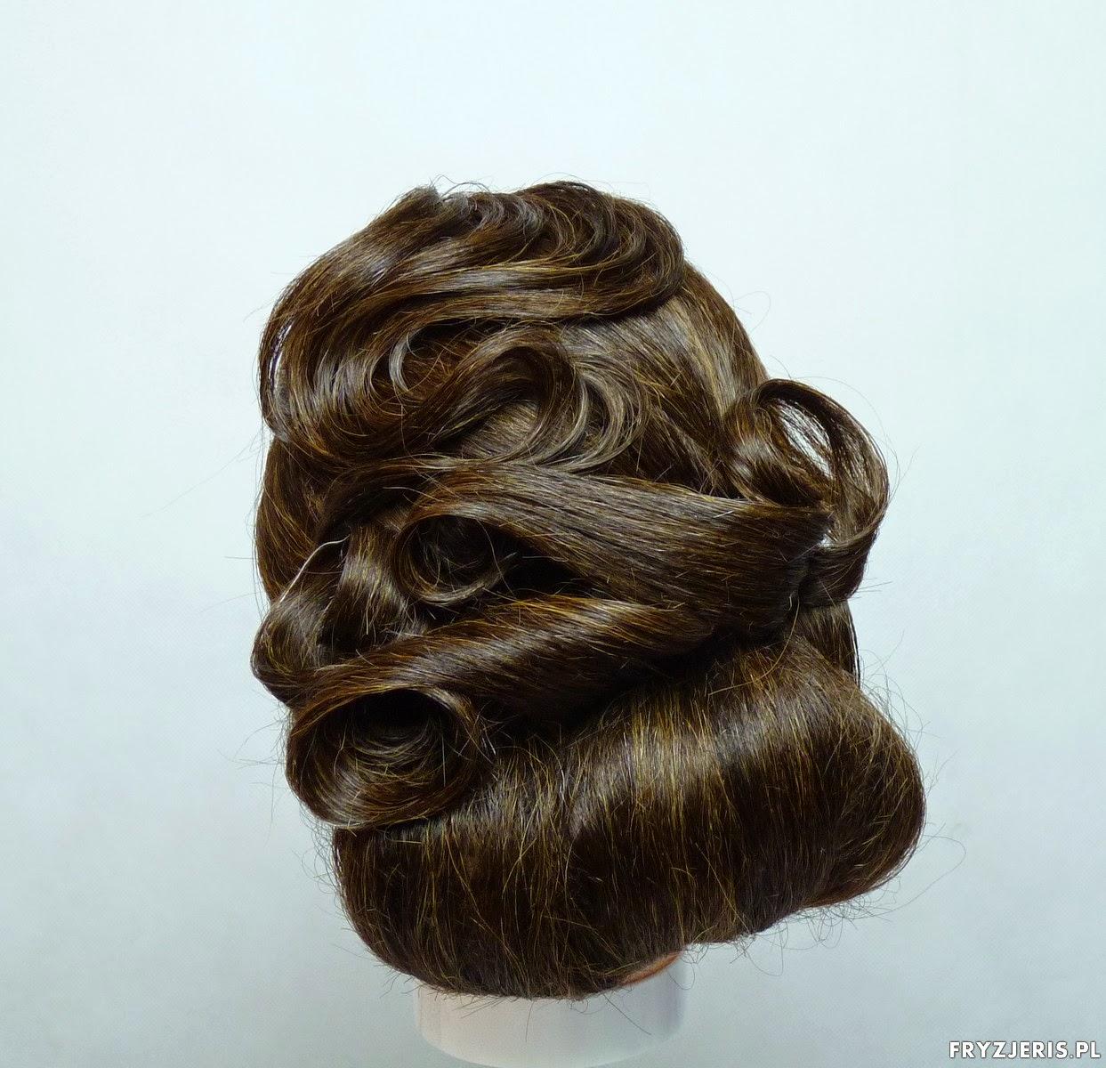 fryzura na sylwestra