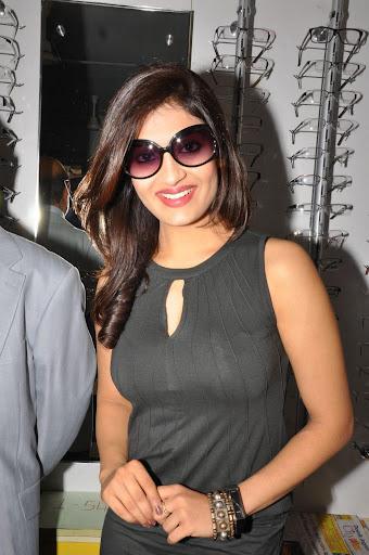 Actress Akansha Stills at KSR Eye Wear Showroom Launch