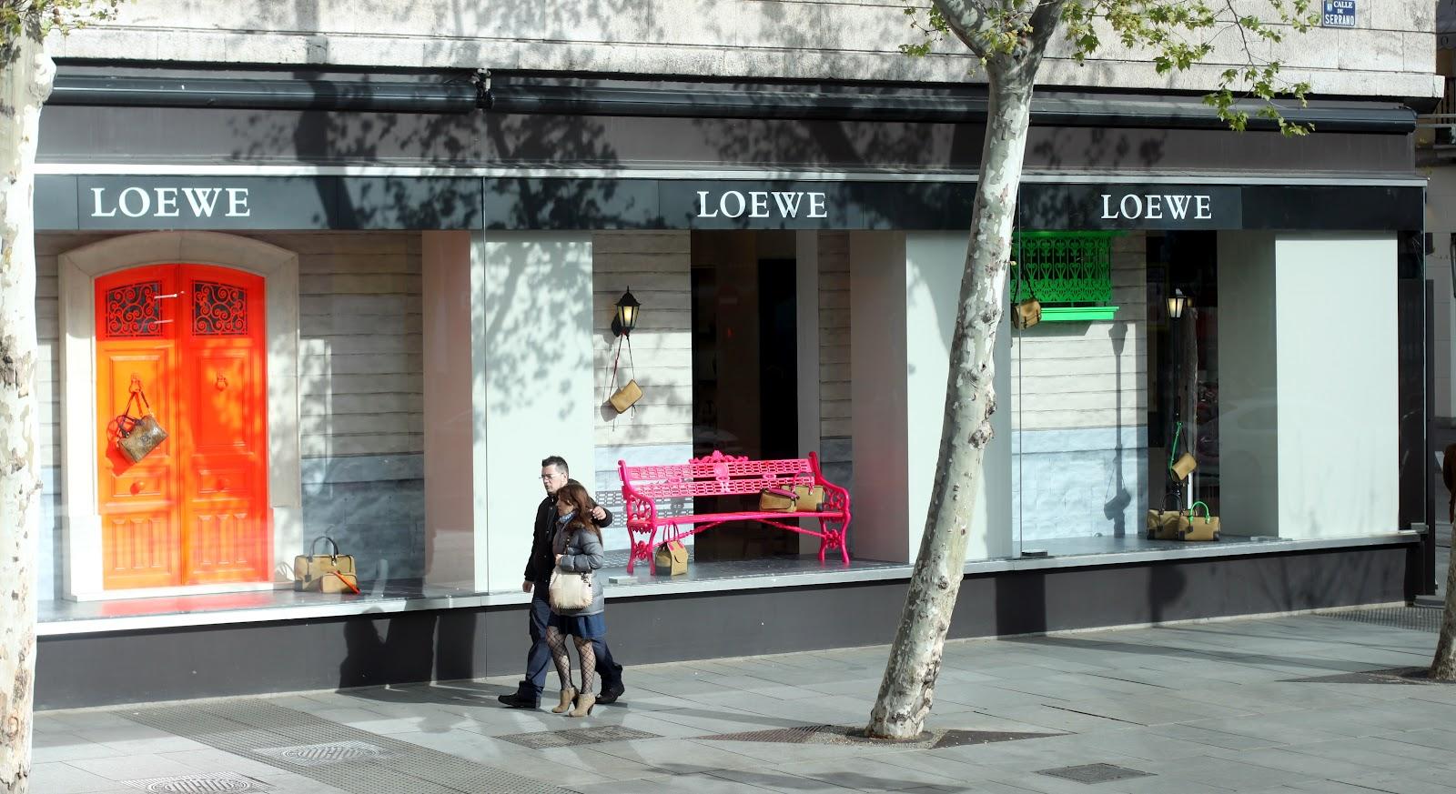 Loewe store Madrid