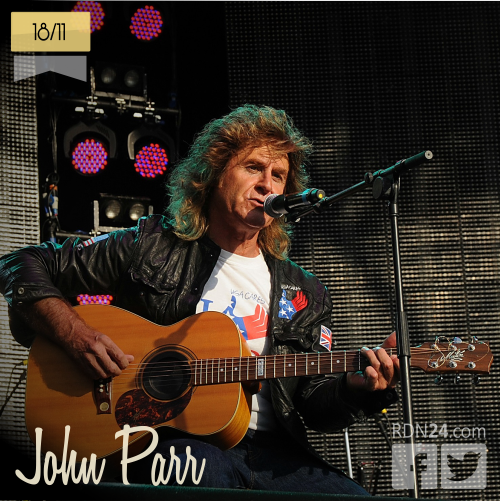 18 de noviembre | John Parr - @JohnParrAmerica | Info + vídeos