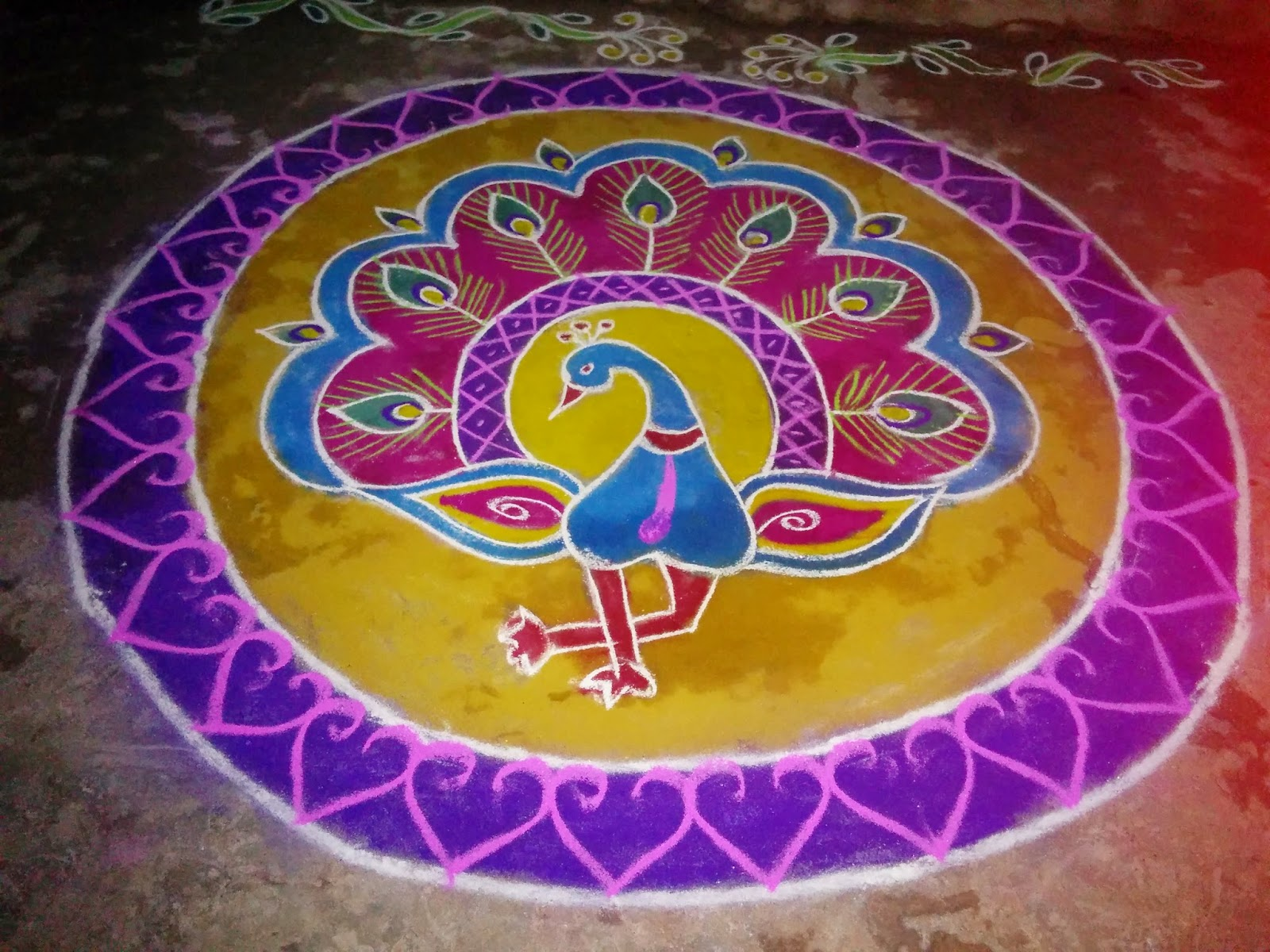 rangoli designs for sankranthi