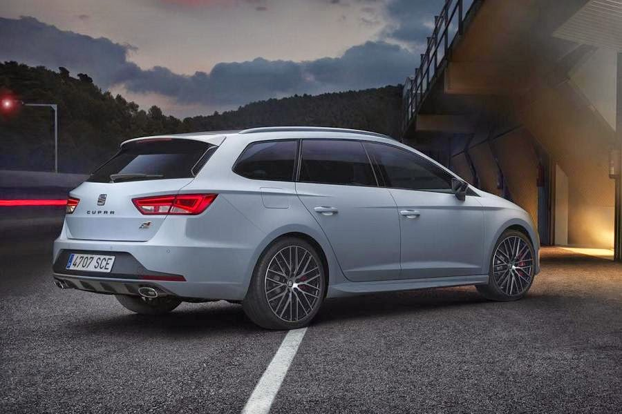 Seat Leon ST Cupra 280 (2015) Rear Side