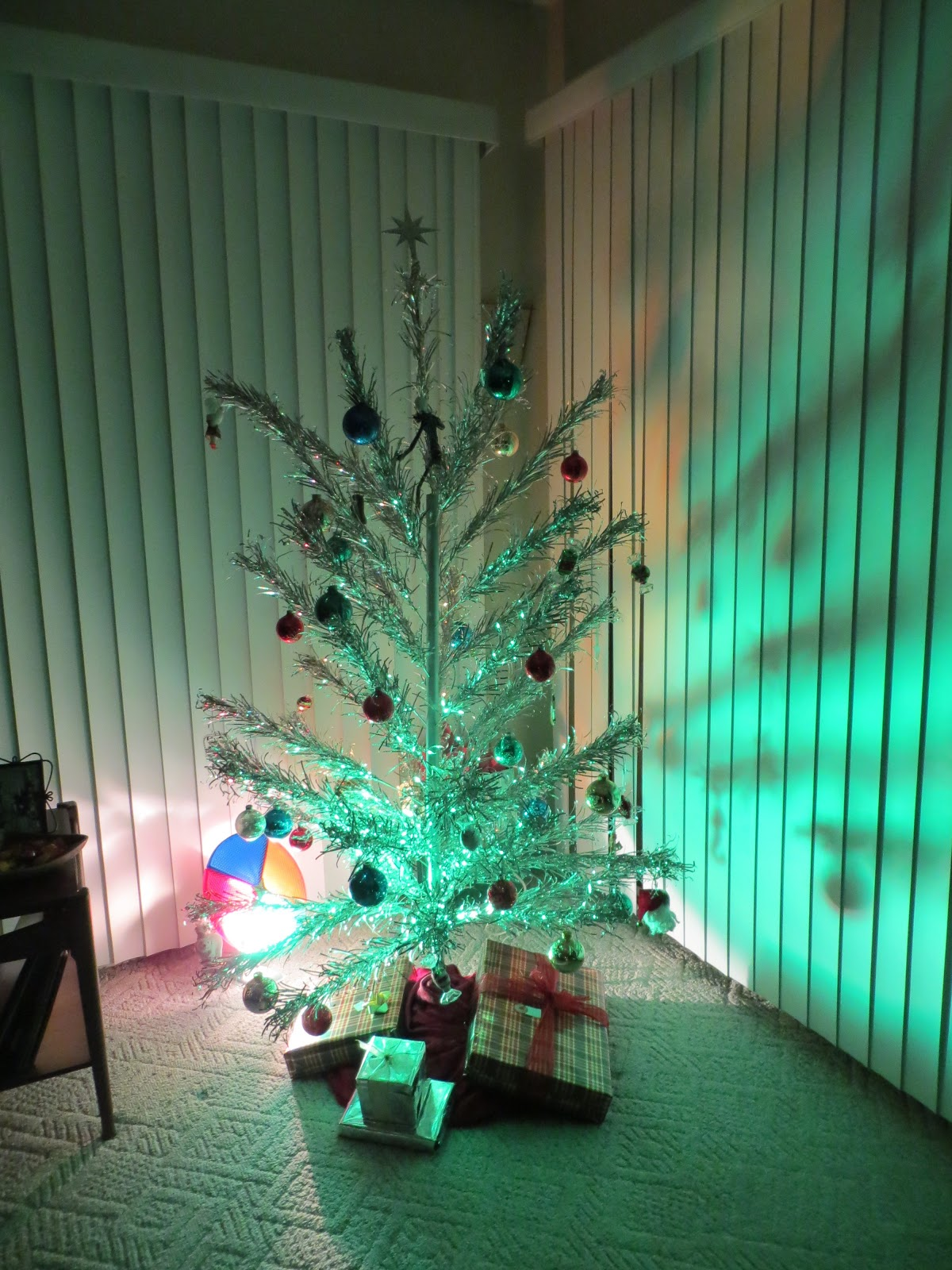 Sweetie Suz: Birthday, Baby, and Aluminum Christmas Trees