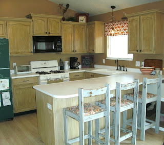 Sink or swim beautifully bold restoration kitchen makeover for Renew old kitchen cabinets