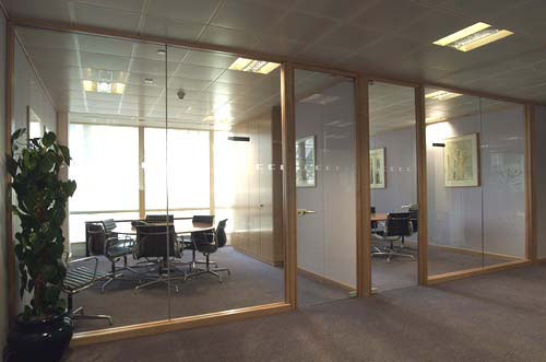 Office And Factory Renovation Glass Office Partitions Create A