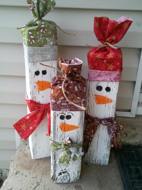 DIY Snowman Christmas Decoration