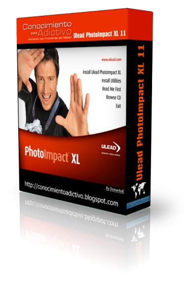 Ulead PhotoImpact XL 11 - Software for editing and composition of digital photography