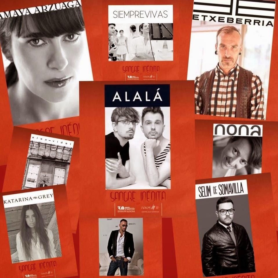 Alalá comparte muestra con otros diseñadores de moda en IVAM