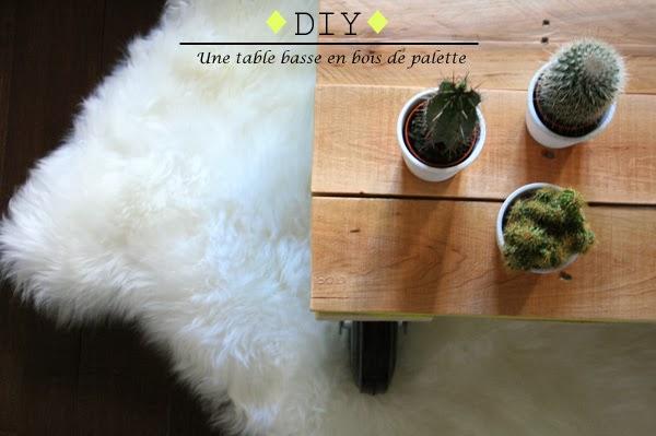 Atelier rue verte le blog ma semaine sur les blogs 7 - Diy table basse ...