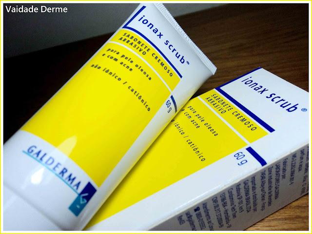 Dermotivin Ionax Scrub Sabonete Esfoliante Facial