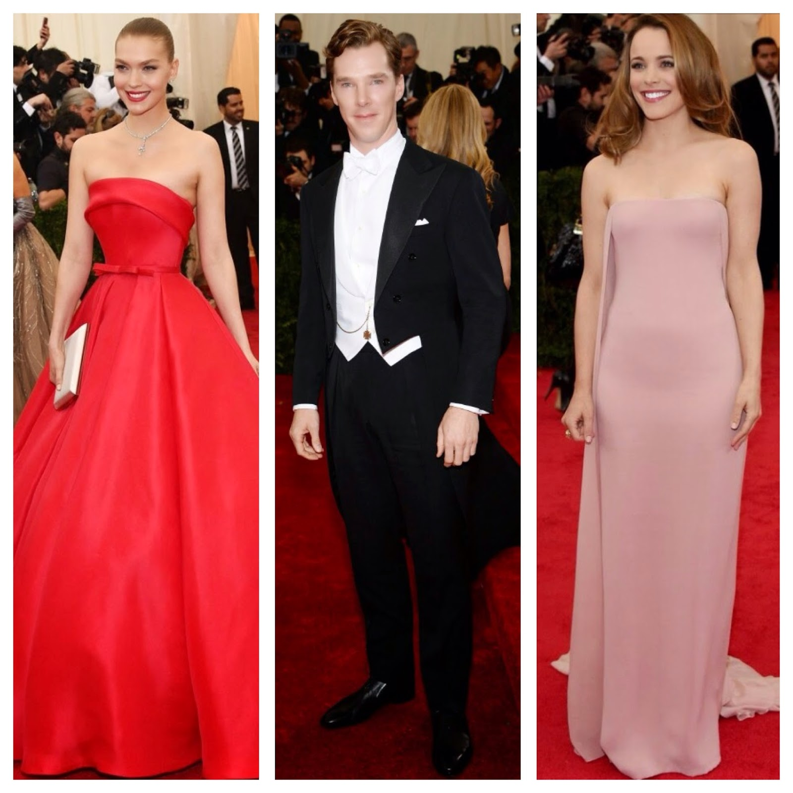 White Tie With Decorations Emma Forth Met Ball 2014 Best Dressed