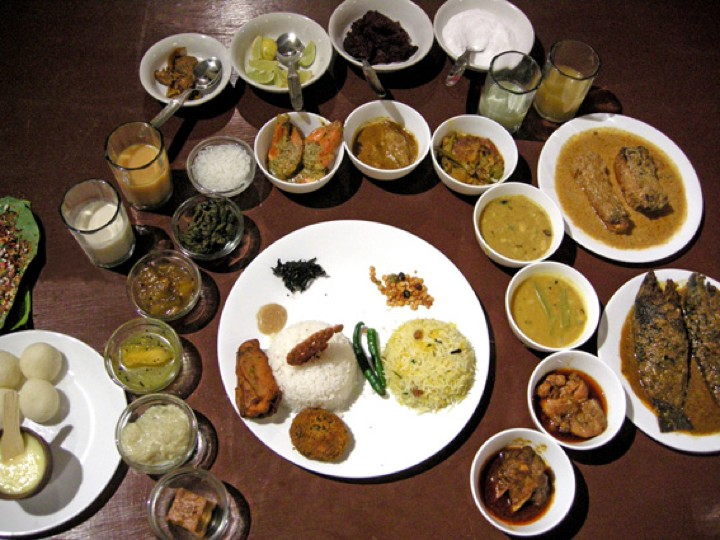 Bengali Wedding Food Menu