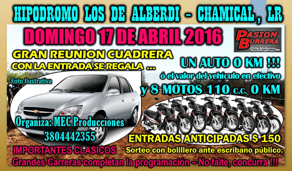 CHAMICAL - 17 DE ABRIL 2016