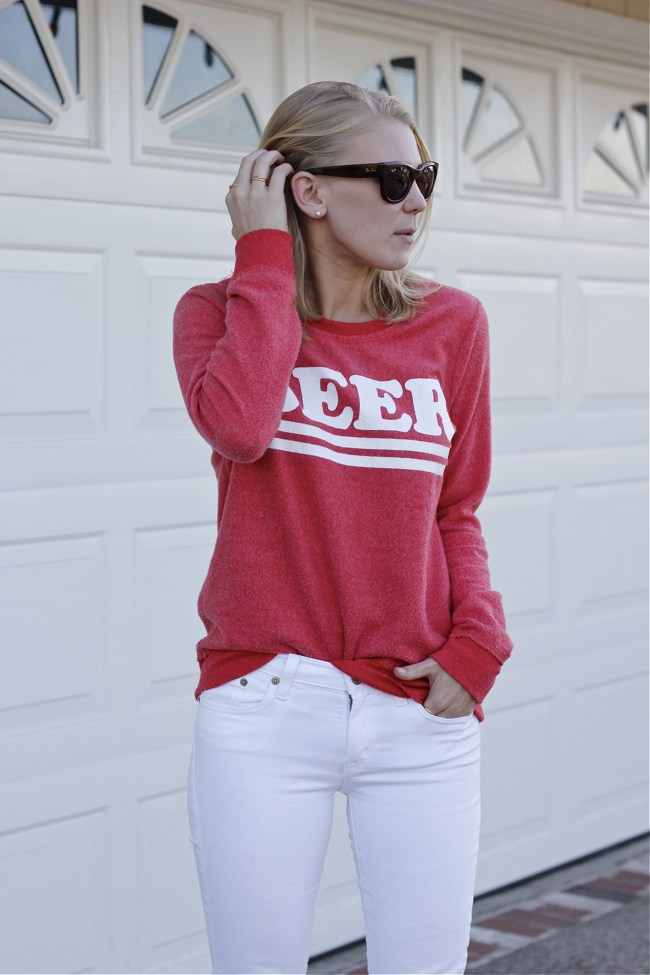 Shae Roderick, Ray-Ban, cat eye, wafer, Beer, sweatshirt, Chaser