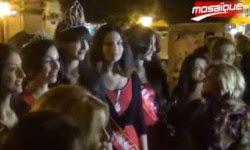 La marche des Miss à l'avenue Habib Bourguiba