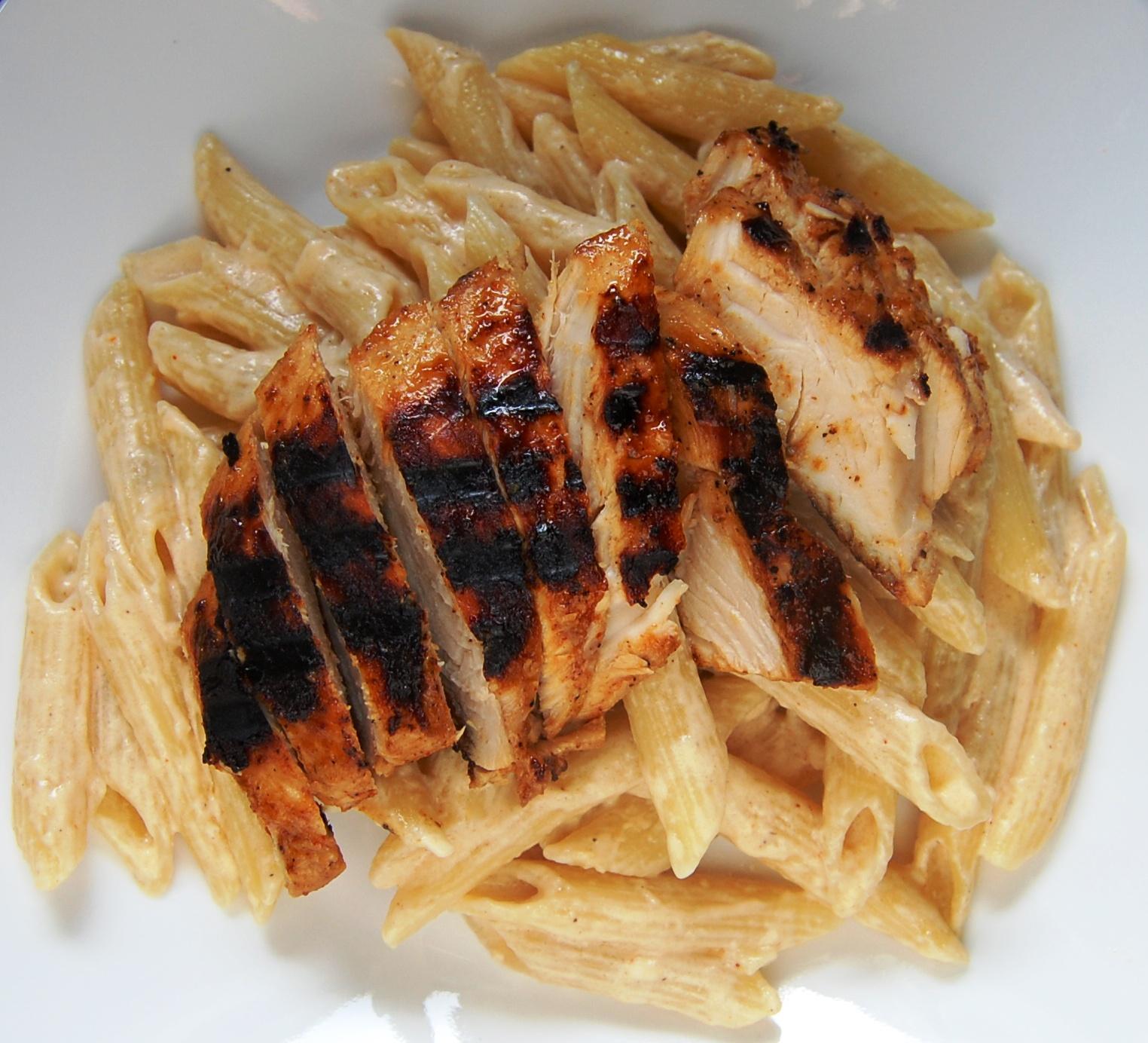 Chicken bbq pasta recipe