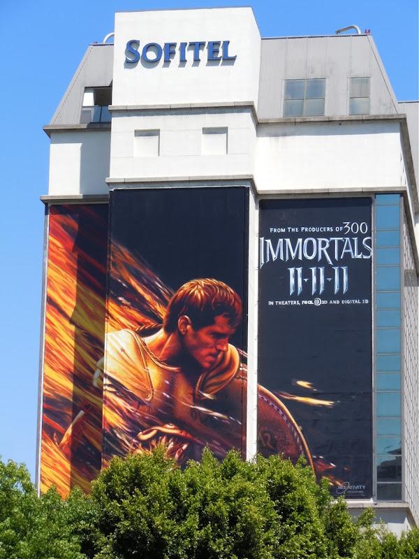 Immortals teaser billboard