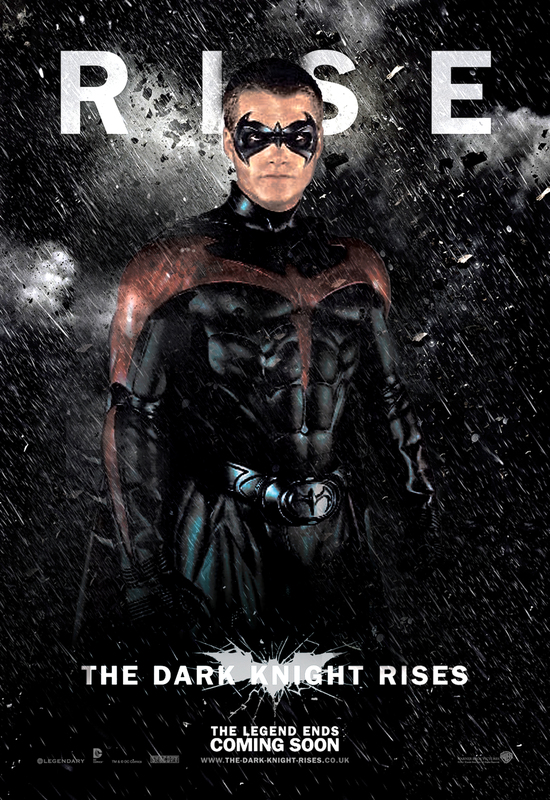 BATMAN&ROBIN_ON_FILM: NEW ROBIN (CHRIS ODONNEL) DARK ... Joseph Gordon Levitt Nightwing