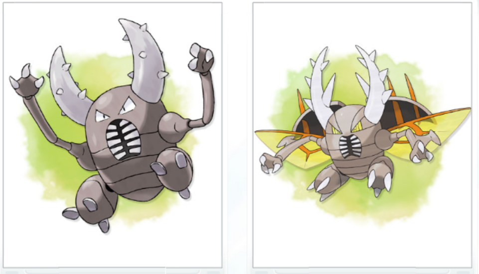 scarabrute méga évolution