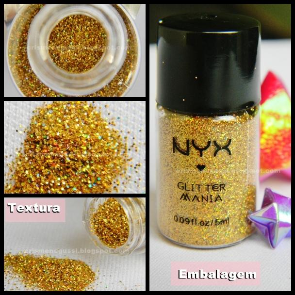 Hot Gold NYX glitter