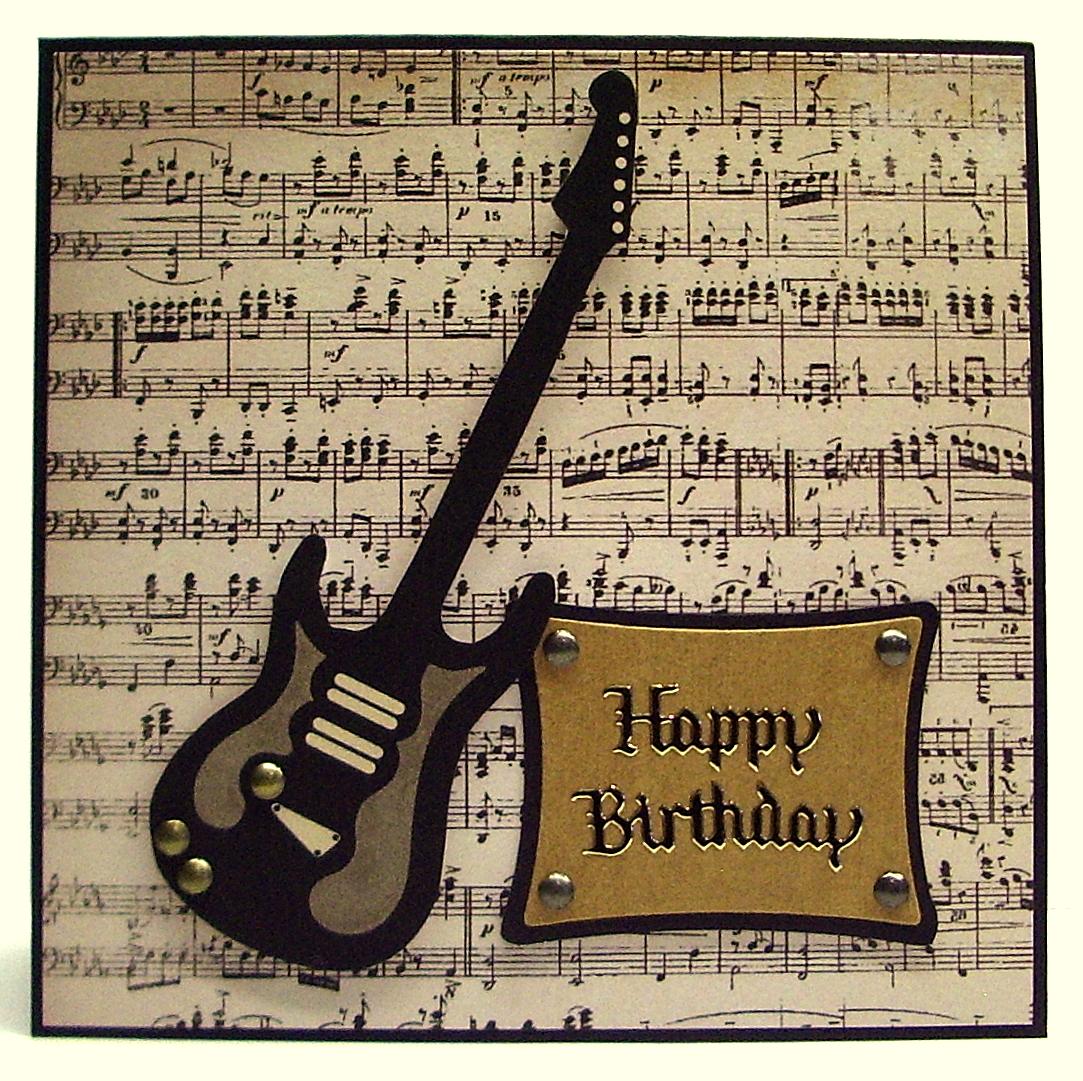 Открытки с днем рождения мужчине гитара 38