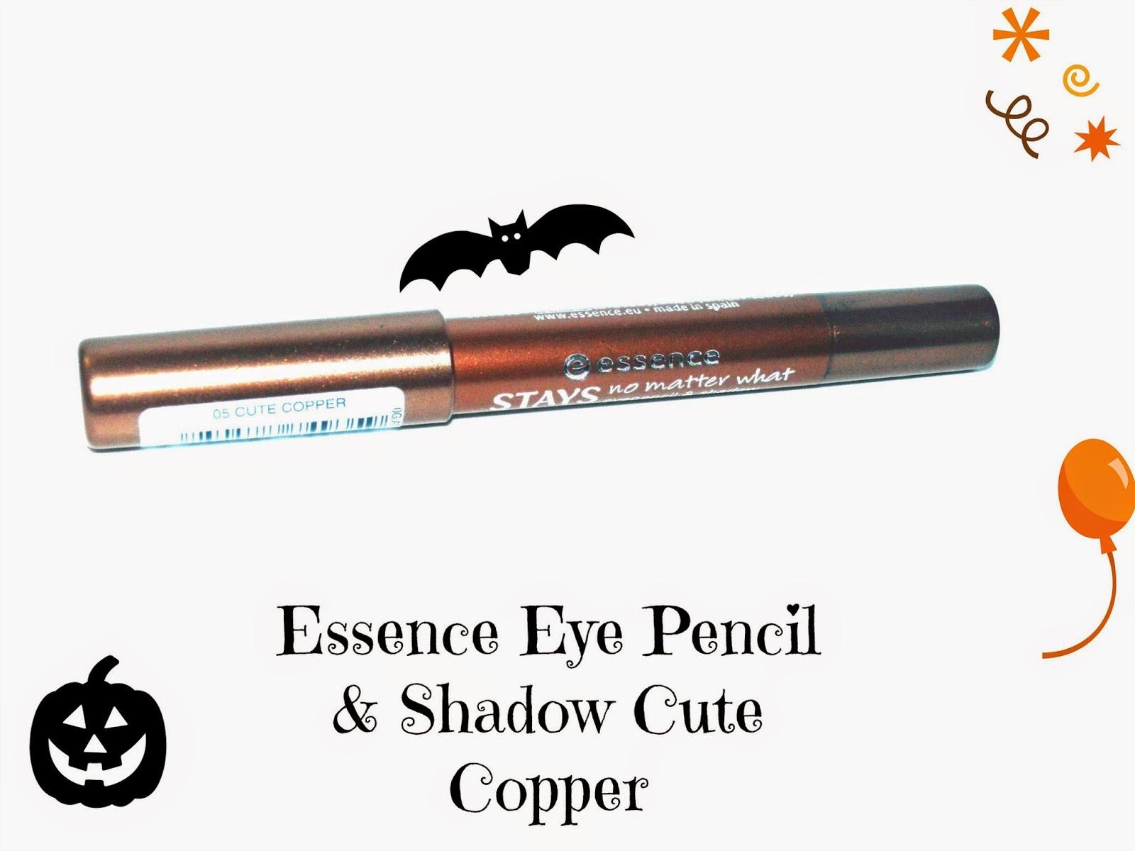 Essence Eye Pencil & Shadow Cute Copper Swatches